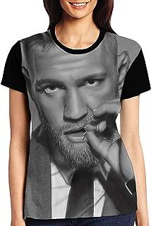 HADIHADI Women's T-Shirts Short Sleeve t Shirt for Women(M) Black
