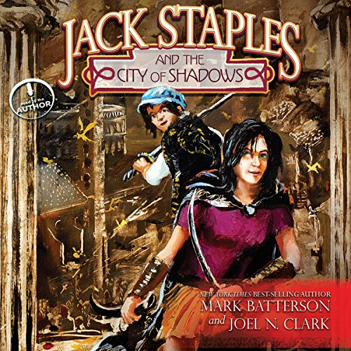 Jack Staples and the City of Shadows audiobook cover art