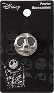 The Nightmare Before Christmas Jack .75 Pewter Lapel Pin by The Nightmare Before Christmas