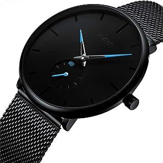 Mens Quartz Waterproof Minimalist Wrist Watches