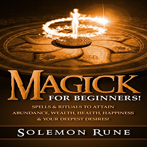 Magick for Beginners! audiobook cover art