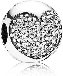 Pandora Women's 925 Sterling Silver Cubic Zirconia Charm