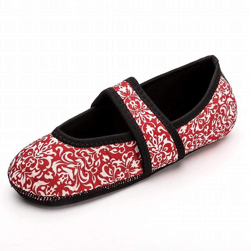 バランス吐き出すオープニングJOYS CLOTHING 上流の水泳の靴柔らかい靴滑り止めアンチカットダイビングソックス裸足スキニー靴をウェーディングビーチ靴下靴女性のダイビングシュノーケリング (Color : Pink, Size : Children M)