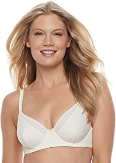 Women's Breathable Luxe Full Coverage Unlined Underwire Bra 75237