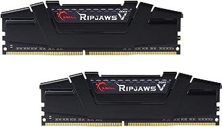 G.Skill RipJaws V Series 16GB (2 x 8GB) 288-Pin SDRAM PC4-28800 DDR4 3600 CL18-22-42 1.35V Dual Channel Memory Model F4-36...