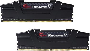 G.Skill RipJaws V Series 16GB (2 x 8GB) 288-Pin SDRAM PC4-28800 DDR4 3600 CL18-22-22-42 1.35V Dual Channel Desktop Memory ...