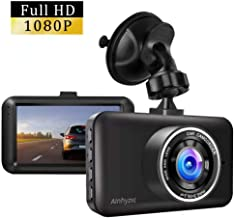 $32 » Dash Cam, Ainhyzic Dash Camera 1080P Full HD 3 Inch Screen Car Driving Recorder for Cars Super Night Vision, 170°Wide Angle, Loop Recording, WDR, G-Sensor, Parking Monitor, Motion Detection