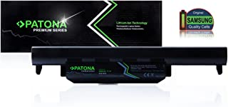 PATONA Premium Batería para Laptop ASUS A32K55 | A32-K55 | A33K55 | A33-K55 | A41K55 | A41-K55 - [ Li-Ion; 5200mAh; Negro]