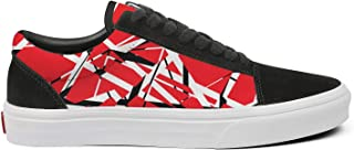 Cdrago Men's Fashion Casual Canvas Skateboard Shoes Old Skool Lace Up Low Top Sneakers