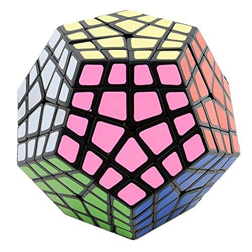 HJXDtech-Dayan MF8 Nouveau irrégulière Magic Cube 4x4x4 Megaminx Vitesse Cube