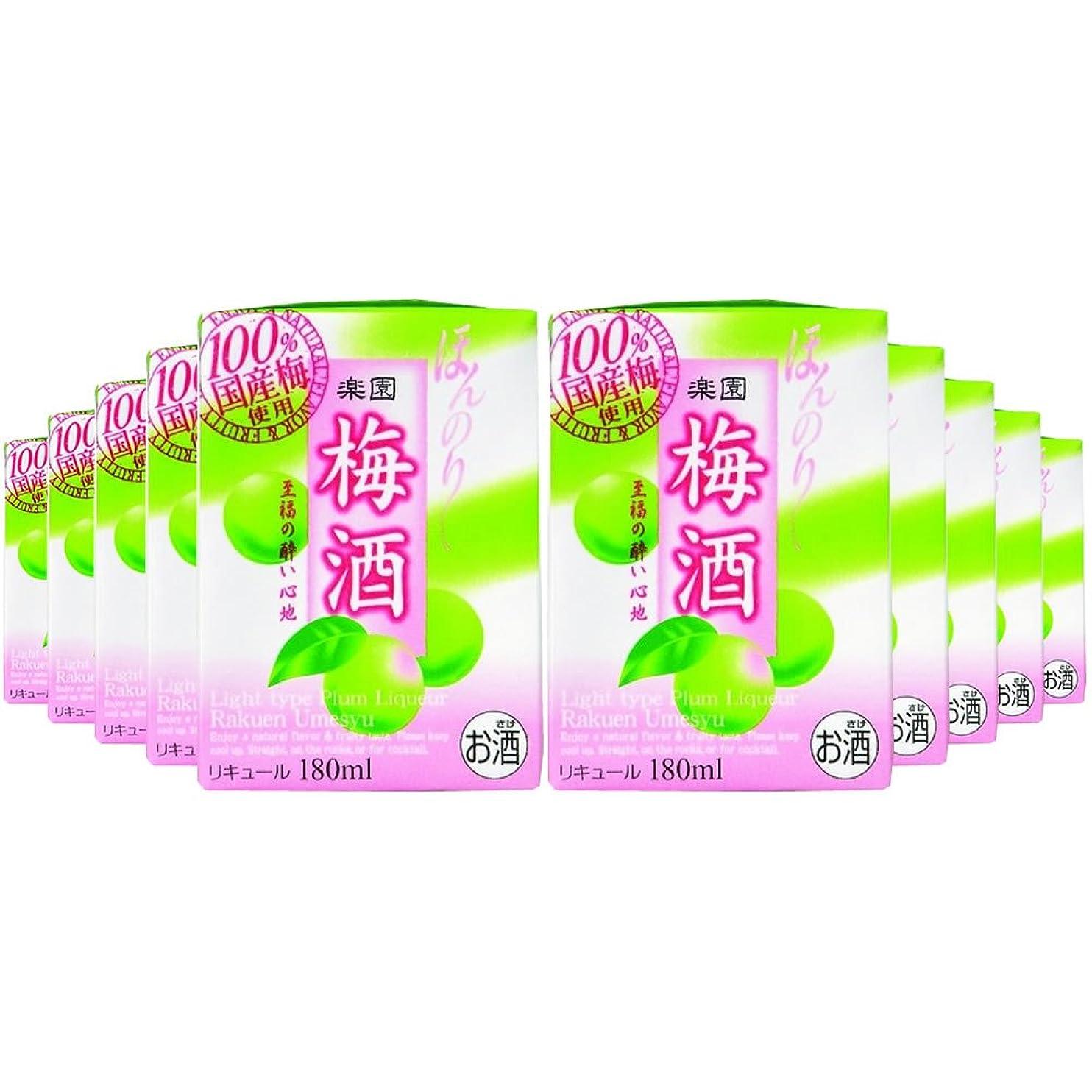 付録擬人強制清洲桜醸造 楽園 梅酒ミニ [ 180mlx10本 ]