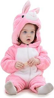Pelele Buzo Pijama Manta con Capucha para Bebés Niño