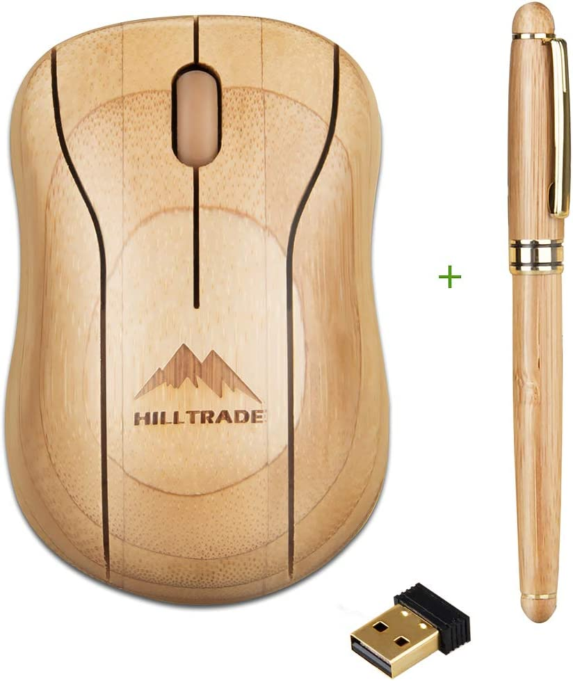Bamboo Wireless Rapid rise Mouse Computer Optical Sales of SALE items from new works Ergonomic Quiet M