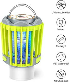 Camping Lantern Flashlight Bug Zapper 3-in-1 Portable...