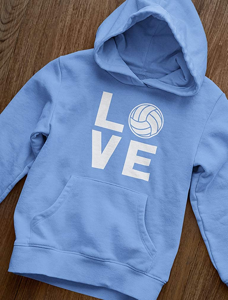 Love Volleyball Sweatshirt Gift for Volleyball Fans Women Hoodie