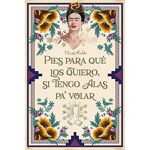 Erik Frida Kahlo Poster - Kunstdruck Poster 61 x 91,5 cm