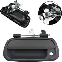 FOLCONROAD Pickup Rear Exterior Textured Black Tailgate Door Handle 69090-0C010 for 2000-2006 Toyota Tundra[US Warehouse]