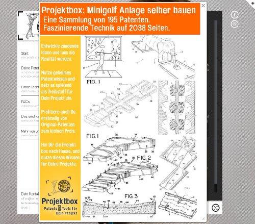 Minigolf Anlage selber bauen: Deine Projektbox inkl. 195 Original-Patenten bringt Dich mit Spaß ans Ziel!