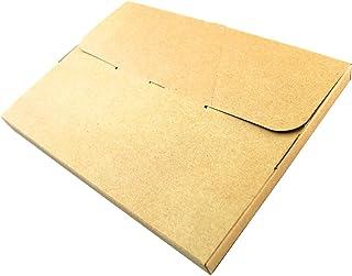 WEIMALL ダンボール A4サイズ メール便対応 310×225×25 日本製 クラフト色 100枚セット