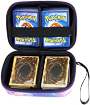 Borya Hard Carrying Case for YugiohCards. Card Game Holder Storage Holds Up to 400 Cards.Removable Divider and Hand Strap Offered (Galaxy)
