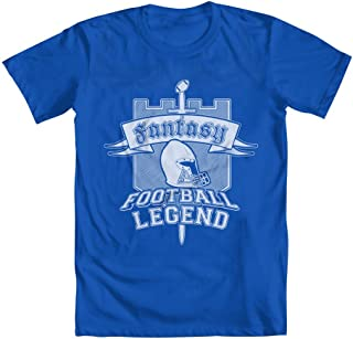 GEEK TEEZ Fantasy Football Legend Youth Girls` T-Shirt