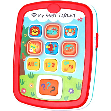 Infant Toys Baby Tablet Toys For 6 12 18 Month Old Boys And Girls With Music Learning Abc Numbers Color Baby Toys For 1 Year Old Toys Games