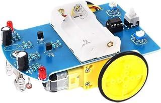 Módulo de evitación de obstáculos con Sensor seguidor de línea de Seguimiento Inteligente Inteligente D2-1 para Coche Robo...
