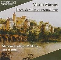 Marais: Piティces de viole du second livre by Eero Palviainen (2000-08-07)