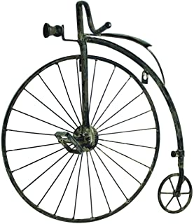 """Magoo's 23"""" Antique Style High Wheel Bicycle Wall Art Bike Penny Farthing Wall Decor"""