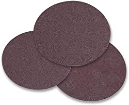 Mercer Industries 350036 PSA Aluminum Oxide Cloth Discs, 5 inch, 36 Grit (50 pack)