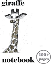 Giraffe Notebook 100+ Pages: Writing And Record Keeping, Notes And A Lot More