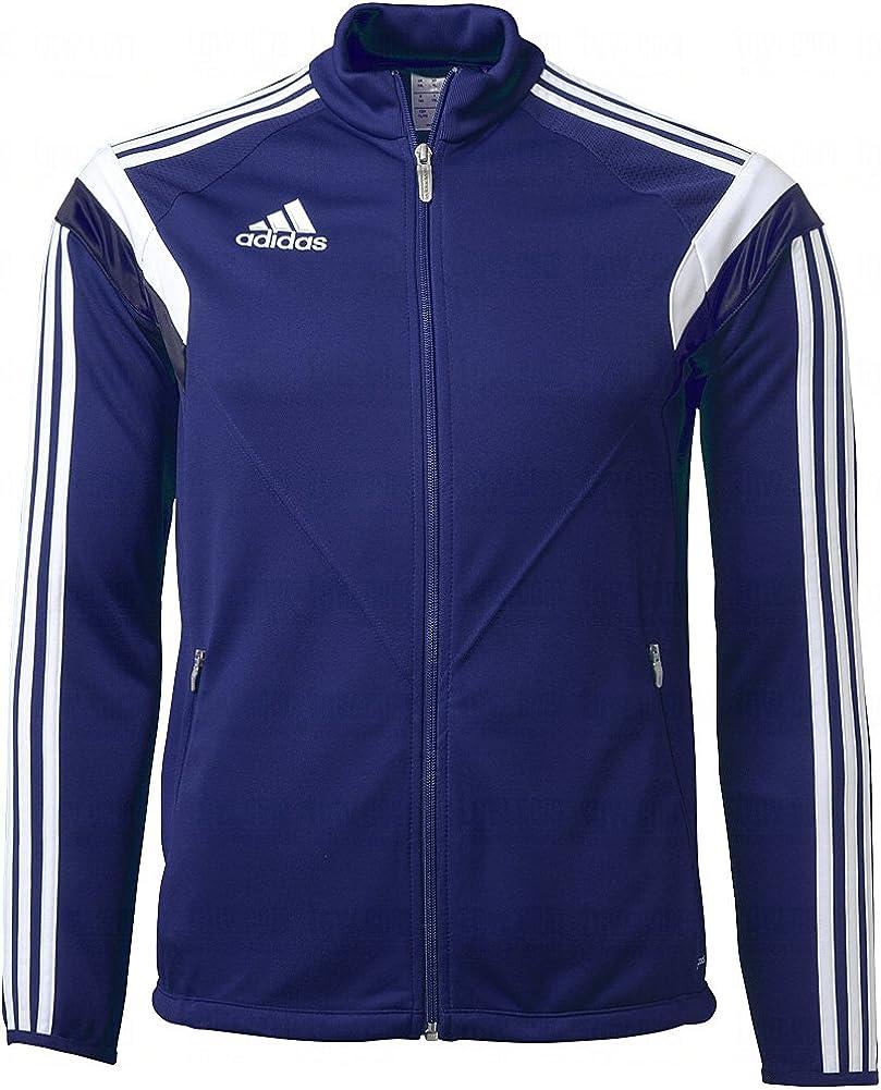 Adidas Men's Condivo 14 Training Jacket, Navy|White|Navy, Small
