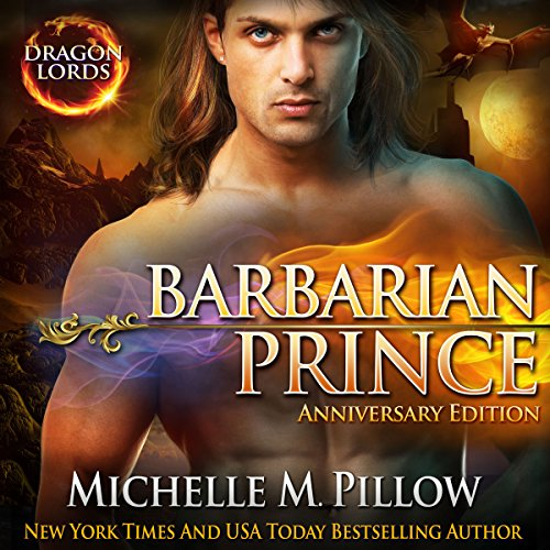 Barbarian Prince audiobook cover art