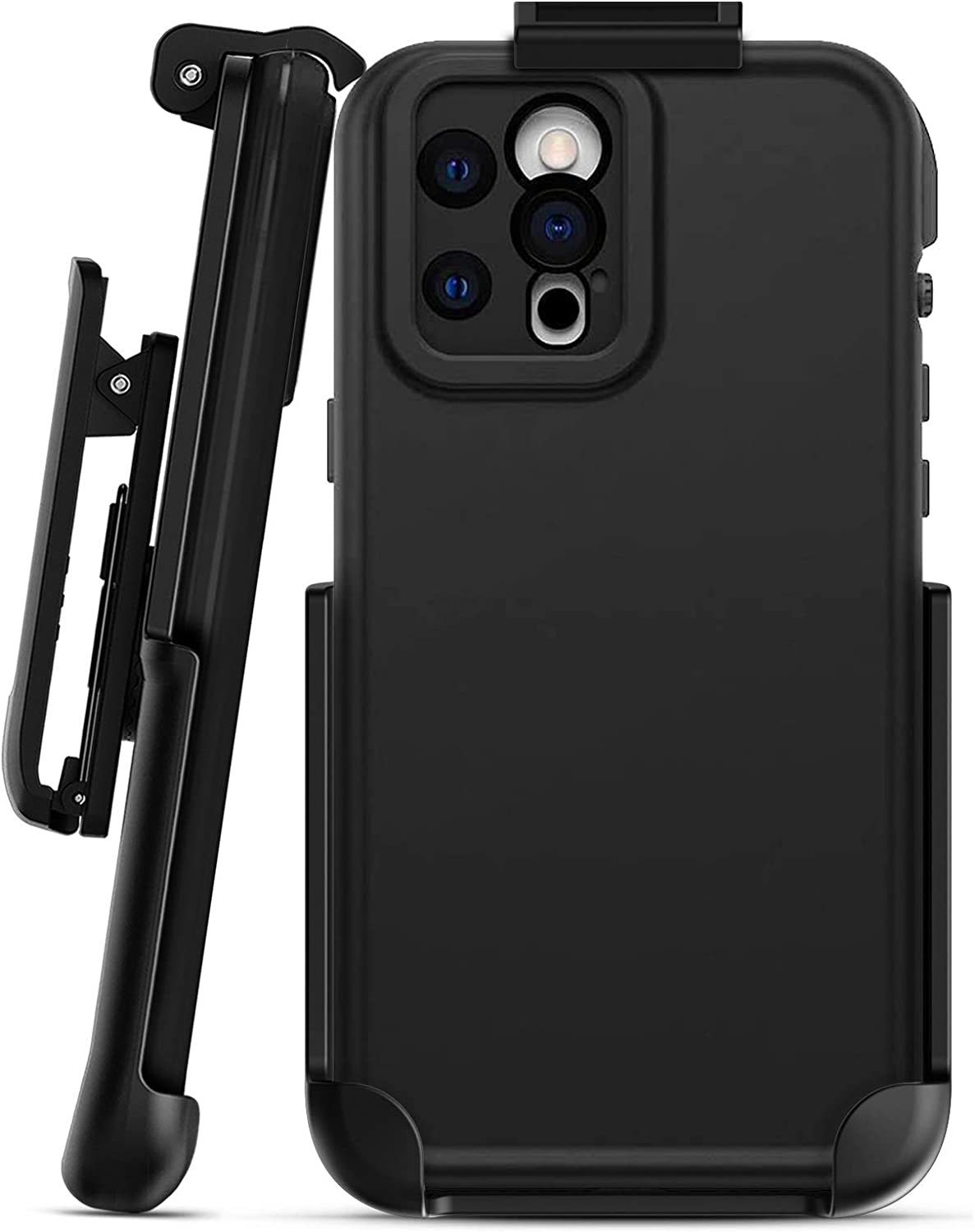 Encased Belt Clip Compatible with Lifeproof Fre - iPhone 12 Pro Max (Holster Only - Case not Included)