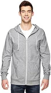 سترة هودي مصنوعة من قماش جورسيه بسحاب كامل من فروت اوف ذا لووم رمادي XXX-Large