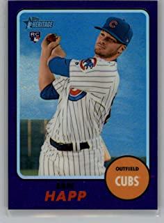 2017 Topps Heritage High Numbers Chrome Hot Box Refractor #THC-660 Ian Happ NM-MT Cubs