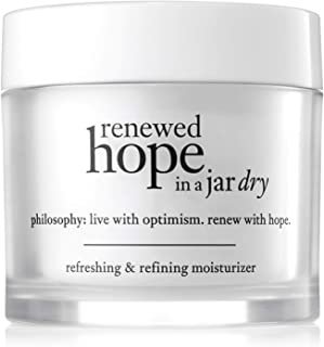 Philosophy Renewed Hope In A Jar Refreshing and Refining Moisturiser for Dry Skin, 60ml