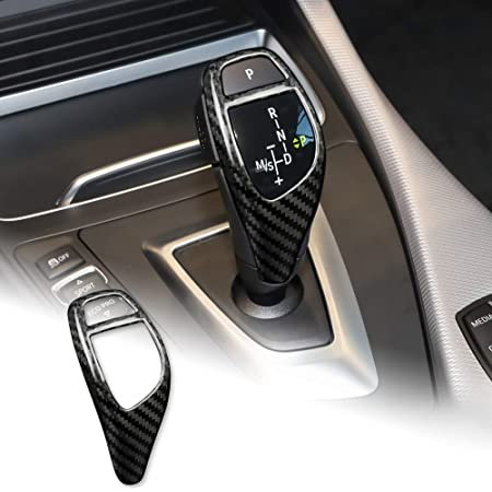 YIWANG 100/% Real Carbon Fiber Car Console Gear Shift Frame Trim For F20 F30 F32 F33 F34 F36 1 3 4 Series Right Hand Drive Accessories