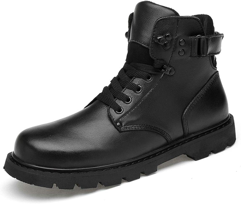 Män's modeable Ankle Work Boot Casual Outole Outole Outole Winter Fleece Inside High Boot  online-återförsäljare