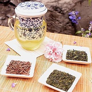 初心一乃茶器 茶葉詰め合わせ〔茶器、煎茶30g、ほうじ茶丸火20g、白折30g〕