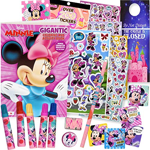 Minnie Mouse Coloring Book Set