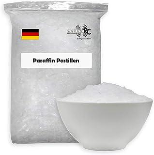 5 kg de cire de bougie de qualité supérieure - Blanc pur - Granulés de cire de qualité supérieure - 54/56 - Cire de paraff...