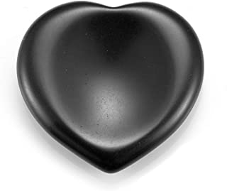 PESOENTH Lapis Lazuli Heart Thumb Worry Stone for Anxiety,Natural Jade Gemstone Healing Palm Pocket Stones Reiki Chakra Crystal Stress Relief Therapy