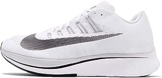 Zoom Fly Women Running Shoe nk897821 100 8.5 D(M) US White/Black