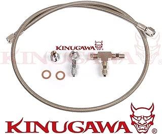Kinugawa Turbo Oil Feed Line Kit for Garrett GT25 GT28 GT30 GT35 40 inch