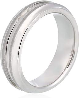 خاتم للجنسين من تي سيرجاني - فضي