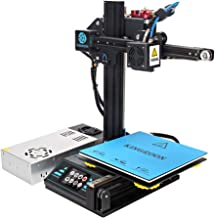 3D Printer, Kingroon DIY Aluminum Resume Printer with Touch Screen Assisted Level Free MicroSD Card Preloaded with Printab...