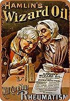 Wizard Oil ティンサイン ポスター ン サイン プレート ブリキ看板 ホーム バーために
