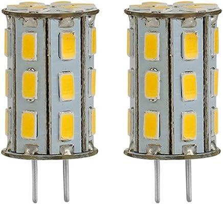 5d2222a5398 GY6.35 LED Light Bulb 12V 5W Warm White 3000K Bi-Pin JC Type