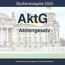AktG Aktiengesetz: Studienausgabe 2022 (German Edition)